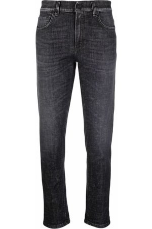 Dondup Women Jeans - Stonewashed cropped jeans