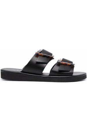 Ancient Greek Sandals Women Sandals - Iaso oversized buckle sandals