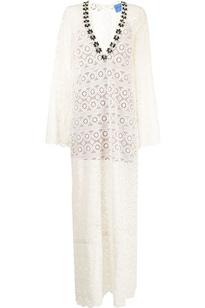 Macgraw Women Maxi Dresses - Mythology cotton maxi dress
