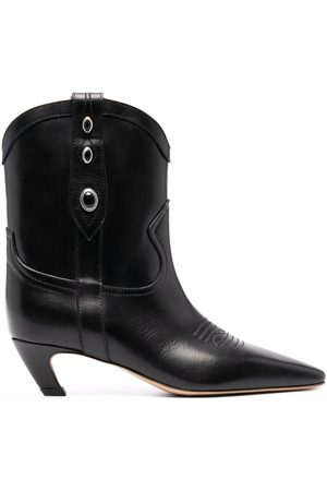 Pinko Eyelet-detail ankle boots