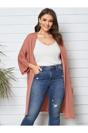 YOINS Women Long Sleeve - Plus Size Long Sleeves Kimono