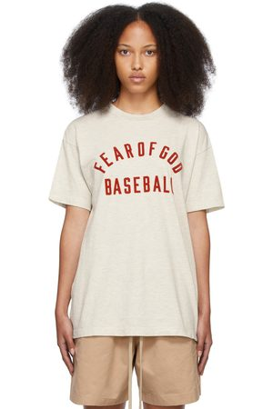 Women Short Sleeve - Fear of God 'Baseball' T-Shirt