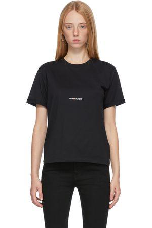Women Short Sleeve - Saint Laurent Rive Gauche Logo T-Shirt