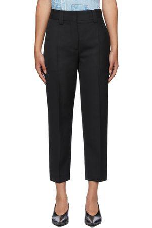 Women Formal Pants - Acne Studios Wool Tapered Trousers