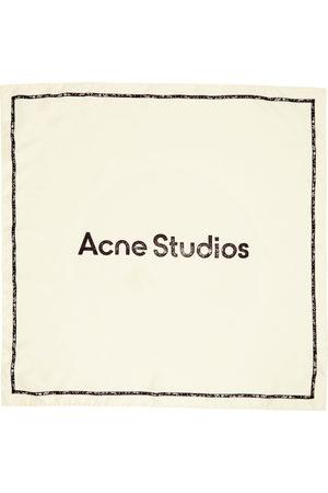 Women Scarves - Acne Studios Off- Branded Scarf
