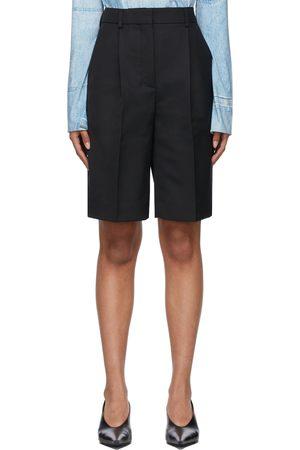 Acne Studios Wool Pleated Shorts