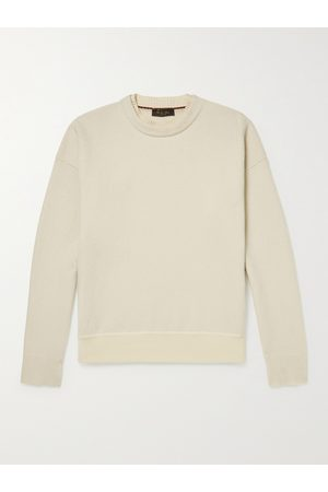 Loro Piana Men Jumpers - Layered Garment-Dyed Wish Virgin Wool Sweater