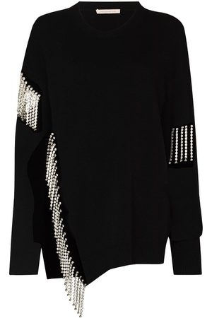 Christopher Kane Women Jumpers - Cut out cupchain sweater