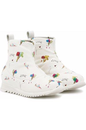 Giuseppe Zanotti Baby Wellingtons - Frosty ankle sneaker boots