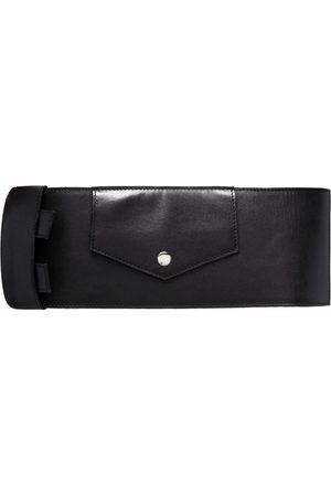 Manokhi Women Belts - Buckle-fastening leather belt