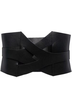 Manokhi Twist-lock leather belt