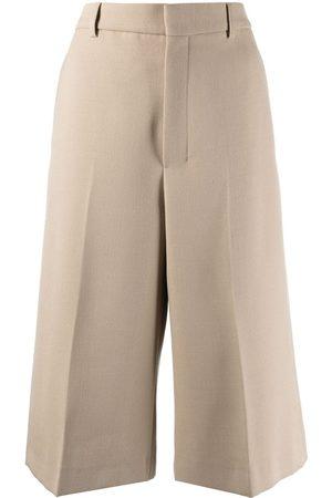 Ami Women Wide Leg Pants - Cropped wide-leg trousers