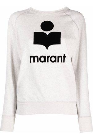 Isabel Marant Logo-print crew-neck sweatshirt