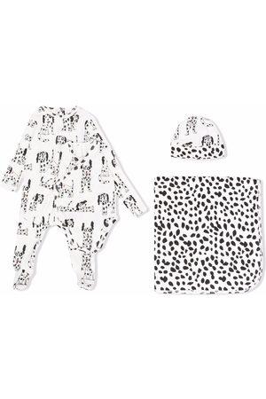 Stella McCartney Baby Bodysuits - Doodle Dalmatian-print babygrow set