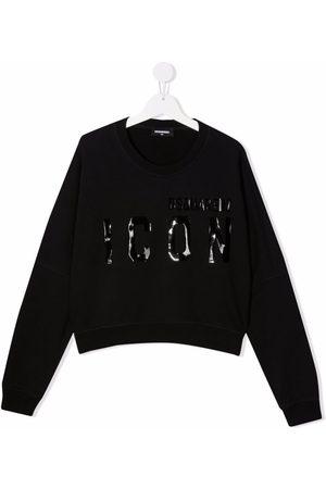 Dsquared2 Girls Sweatshirts - TEEN Icon-print cotton sweatshirt