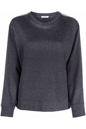 PESERICO SIGN Stripe-detail sweatshirt