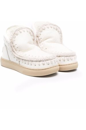 Mou Girls Ankle Boots - Shearling leather boots