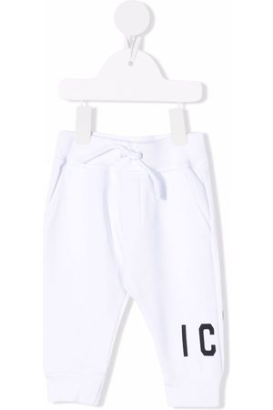 Dsquared2 Boys Trousers - Icon cotton track trousers