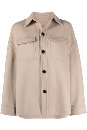 Ami Buttoned wool overshirt