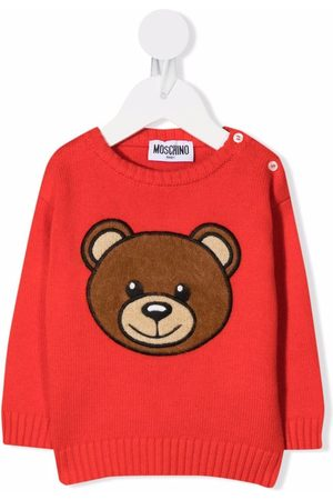 Moschino Teddy embroidery jumper