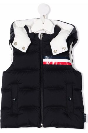 Moncler Baby Gilets - Hooded puffer gilet