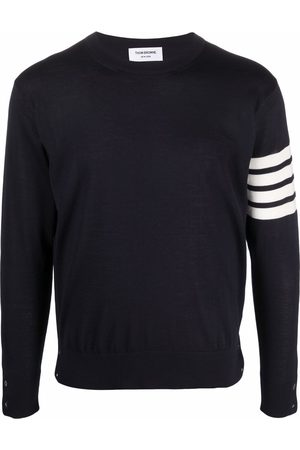Thom Browne Men Jumpers - 4-Bar knitted jumper