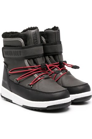Moon Boot Boys Boots - Waterproof touch-strap boots