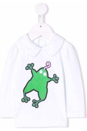 Marni Frog-print long-sleeve top