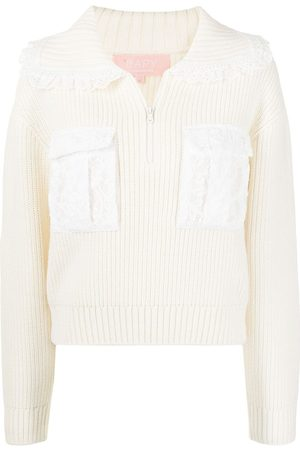 BAPY Women Jumpers - Zip-up knitted jumper