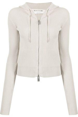 1017 ALYX 9SM Ribbed-knit drawstring hoodie