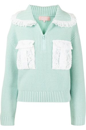 BAPY Zip-up knitted jumper
