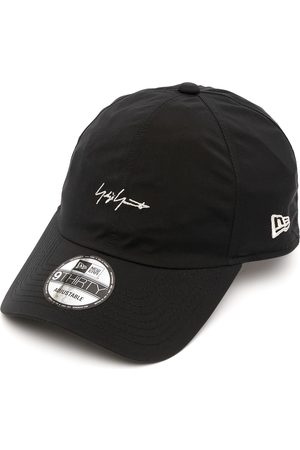 YOHJI YAMAMOTO Logo-embroidered stitched cap