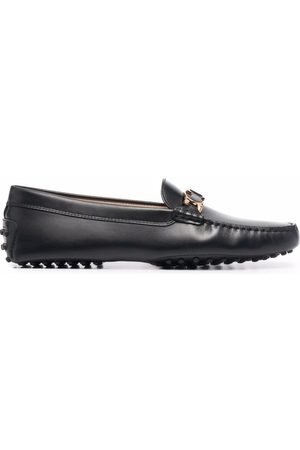 Tod's Women Loafers - T logo plaque loafers