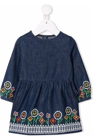 Stella McCartney Baby Casual Dresses - Baby embroidered tunic dress