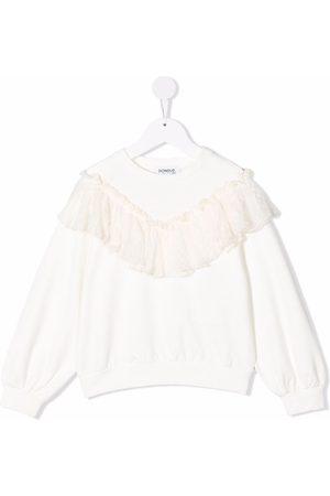 Dondup Ruffle long-sleeve jumper