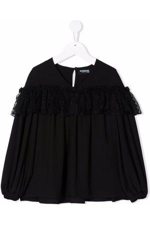 Dondup Ruffle long-sleeve blouse
