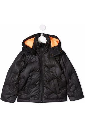 Diesel Boys Hoodies - Padded zip-up down jacket
