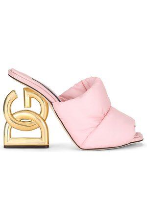 Dolce & Gabbana Women Sandals - DG-heel mules