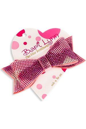 Bari Lynn Crystal-Embellished Double Bow