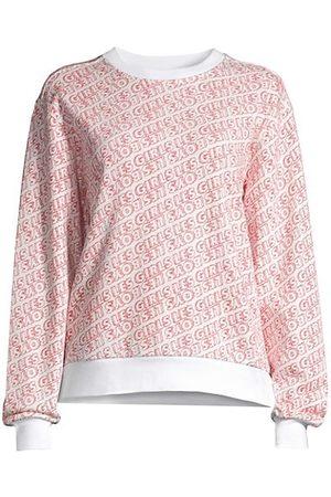 Les Girls Les Boys Women Nightdresses & Shirts - Fuzzy Font Printed Crewneck