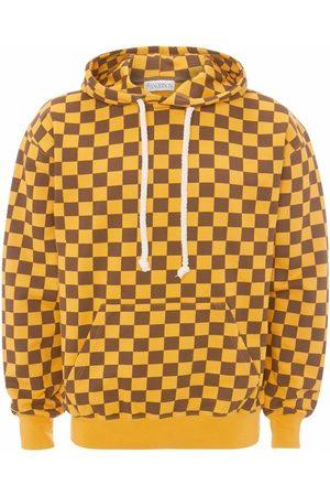 J.W.Anderson Men Sweatshirts - CHECKERBOARD HOODIE