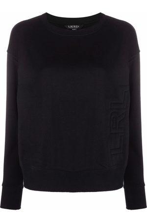 LAUREN RALPH LAUREN Women Sweatshirts - French terry embossed-logo sweatshirt