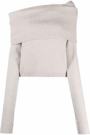 FEDERICA TOSI Women Jumpers - Off-shoulder wool sweater