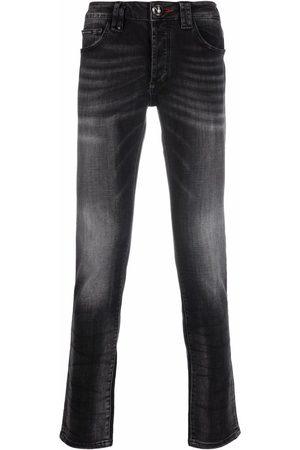 Philipp Plein Straight-cut denim jeans