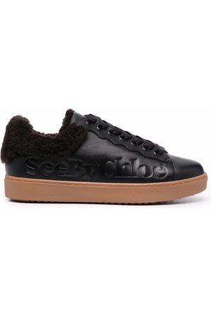 See by Chloé Women Sneakers - Debossed-logo low-top sneakers