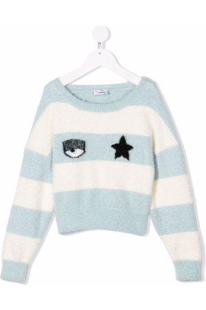 Chiara Ferragni Flirting-intarsia jumper