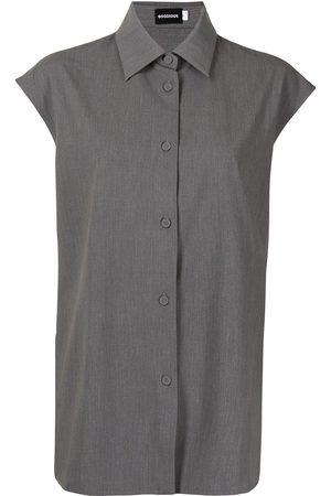 GOODIOUS Sleeveless garbadine shirt