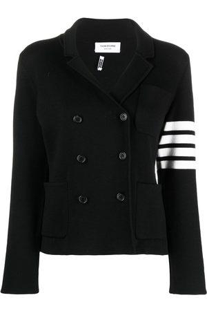 Thom Browne Women Blazers - 4-Bar stripe knitted blazer