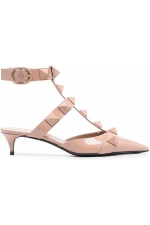 VALENTINO GARAVANI Roman Stud low-heeled pumps