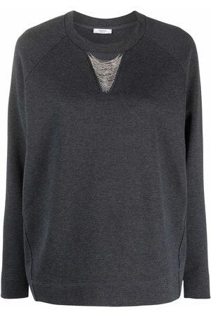 PESERICO SIGN Women Sweatshirts - Ball-chain detail sweatshirt